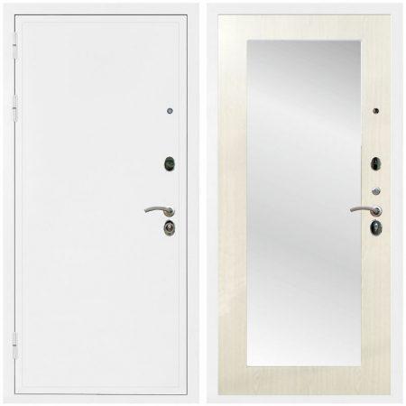 дверь-входная-металлическая-белая-внутри