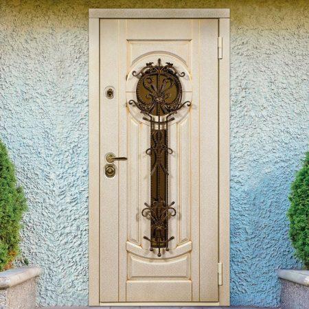 дверь-металлическая-белая