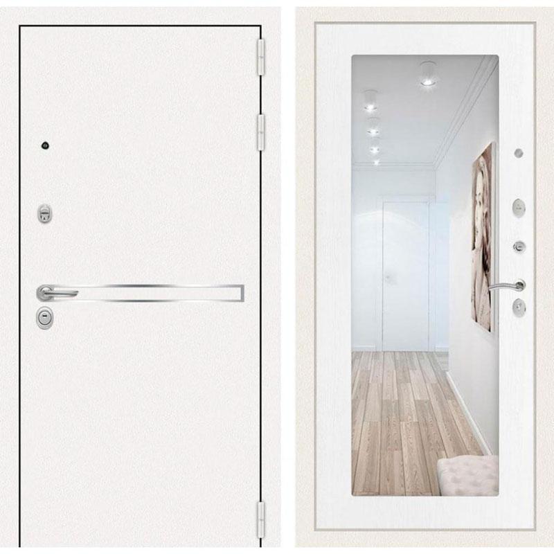 купить-белую-входную-металлическую-дверь