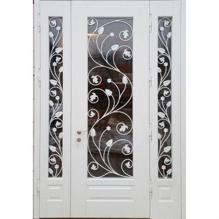 купить-белую-металлическую-дверь